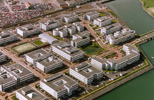 East Point Business Park was completed in 2000.