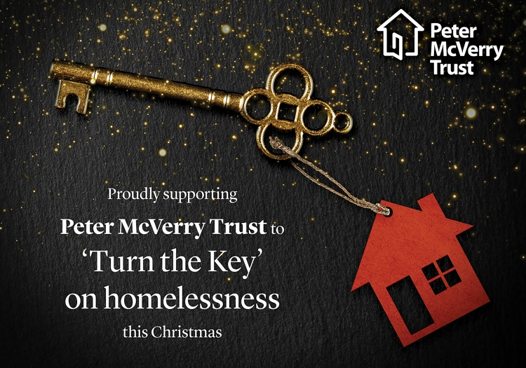 Peter McVerry Turn the Key Christmas Appeal