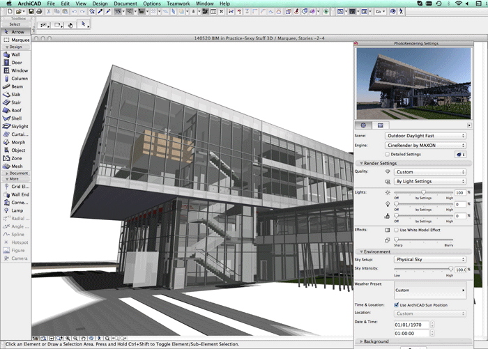 Archicad bim for Design and build software